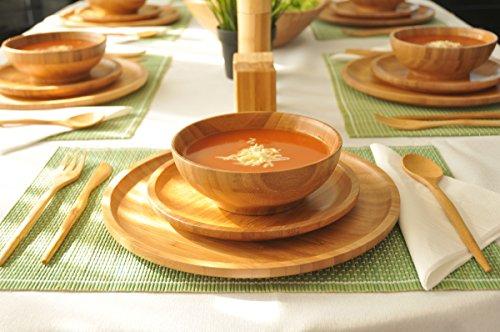 Bambum Caso - Bamboo Wood Soup Rice Bowl