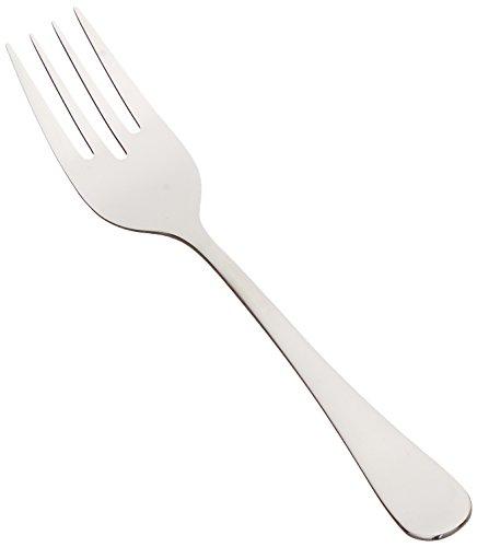 Winco 0026-06 12-Piece Elite Salad Fork Set 18-0 Stainless Steel