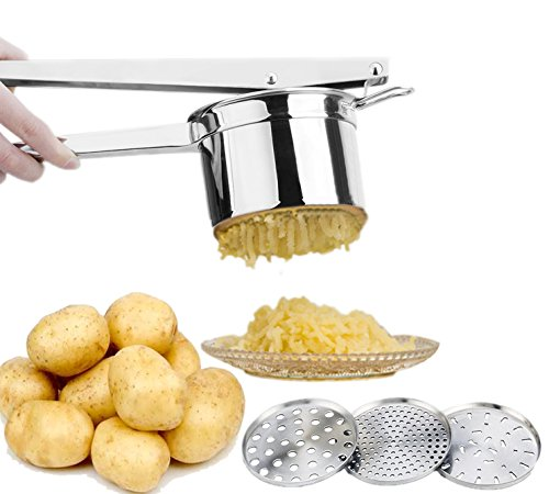 Ekarro Potato RicerMasher Professional Stainless Steel Baby Food Press