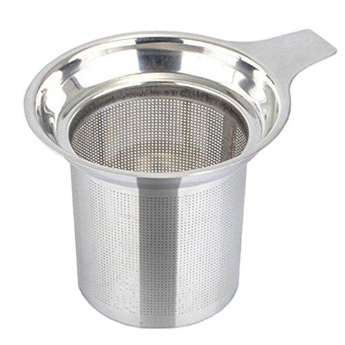 RoseSummer Stainless Steel Mesh Tea Infuser Reusable Strainer Loose Tea Leaf Spice Filter