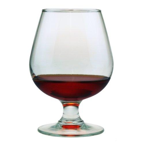Susquehanna Glass Brandy Snifter Glasses, 12-ounce, Set Of 4