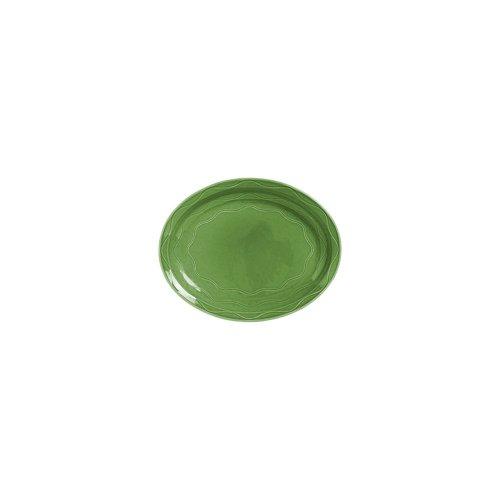 Syracuse China 903035008 Cantina Sage 1163 Platter - 12  CS