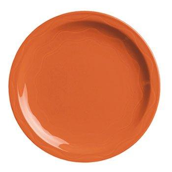 Syracuse China Cantina Dinnerware Plate Ceramic Red 7 14 Diameter - 12 plates