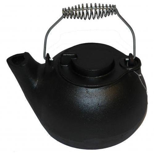 Cajun Cookware 2-quart Seasoned Cast Iron Tea Kettle - Gl10498s
