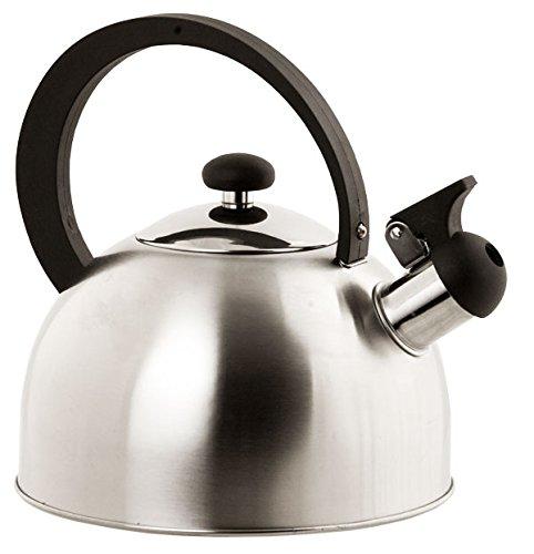 Home Basics Stainless Steel Tea Kettle Silver