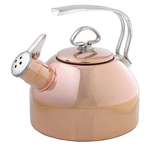 Chantal Copper Classic Teakettle-18 Quart