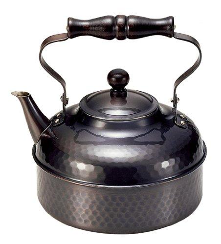 Shinkodo Pure copper kettle 20L black copper finish  2L BC-810