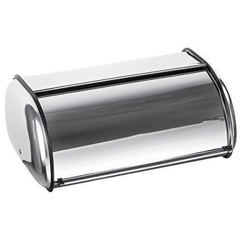 Home-it Stainless Steel Bread Box for kitchen bread bin bread storage Bread holder 165x10x8