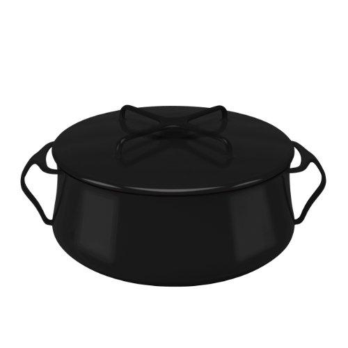 Dansk 846273 Kobenstyle Casserole 6-Quart Black
