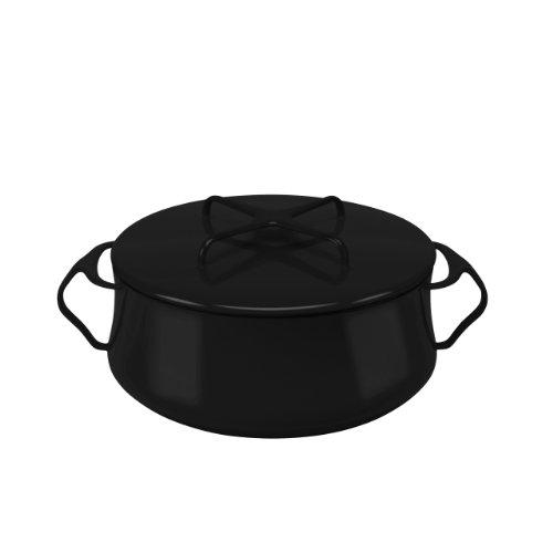 Dansk Kobenstyle Black 4-Quart Casserole