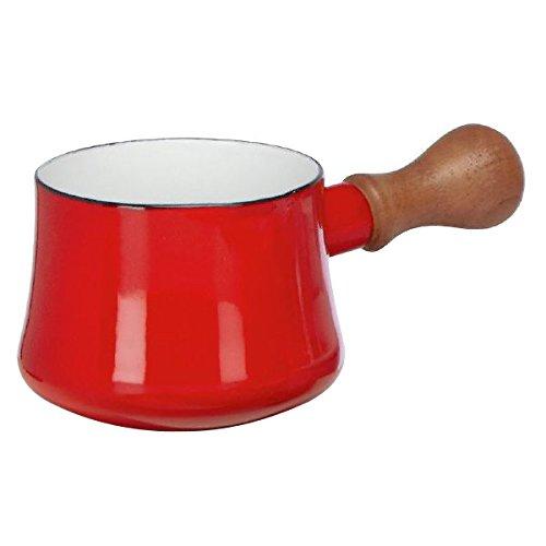 Dansk Kobenstyle Chili Red Enameled Steel Butter Warmer Set of 4