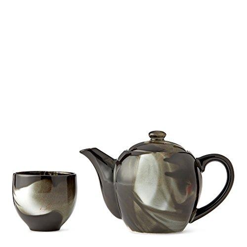 Fume Black Teapot Set by Teavana