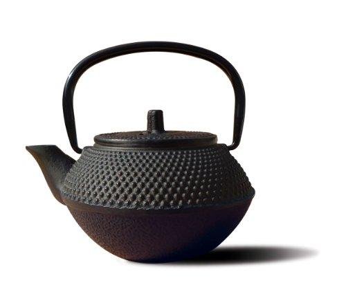 Old Dutch Cast Iron Tokyo Teapot 11-Ounce Black