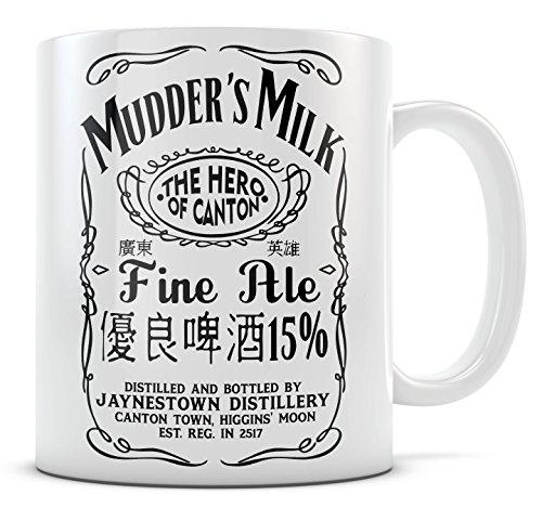 Firefly Serenity Mug - Mudders Milk - White 11oz