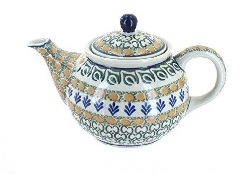 Polish Pottery Herb Garden Small Teapot