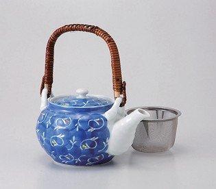saikai pottery Kyusu small teapot Sumihajiki kyoka 4go 68496 from Japan