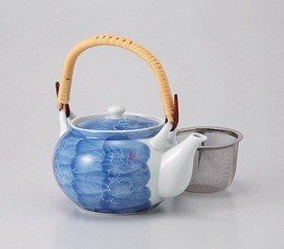 saikai pottery Kyusu small teapot Sumihajikibotan 4go 60464 from Japan