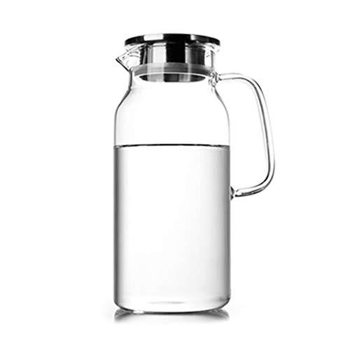 Cupsaucer sets Kettle Living Room Office Tea Set Household Cold Water Bottle Glass Transparent Teapot Tea set Color  1