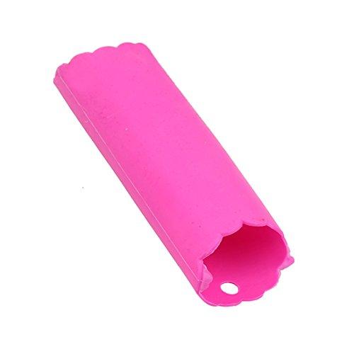 VWH Silicone Garlic Press Roller Tube Peeler Peeling Tool Red