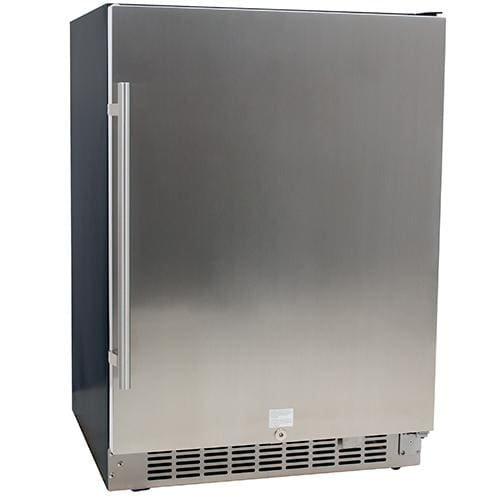 EdgeStar CBR1501SLD 549 Cu Ft EdgeStar 142 Can Built-in Stainless Steel Beverage Cooler
