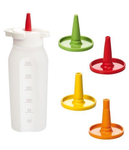 Tescoma Presto Condiment Dispenser with 4 Nozzle 250ml
