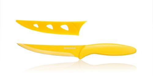 Tescoma Presto Non-Stick Utility Knife 12cm Yellow