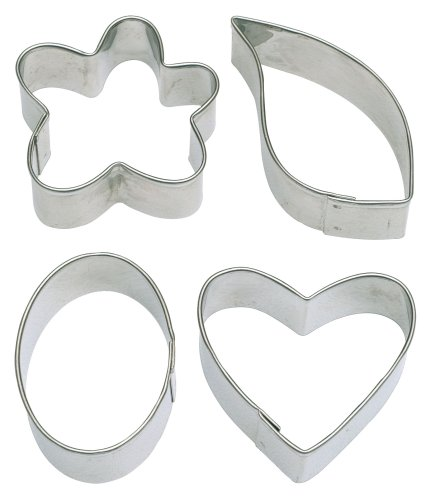 Wilton Fondant Fancy Shapes Cut Outs Set of 4