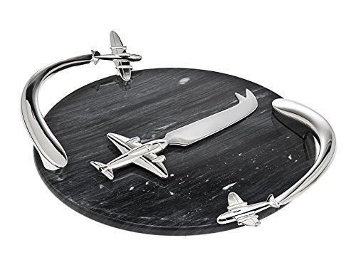 GodingerAirplane Marble Board WKnife