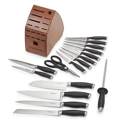 Calphalon Contemporary Cutlery 17 Piece Set Black