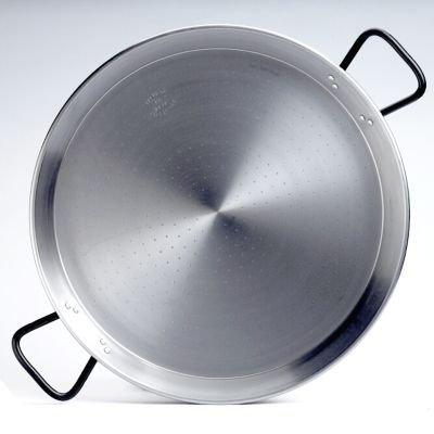 Garcima 22-inch Pata Negra Restaurant Grade Paella Pan 55cm