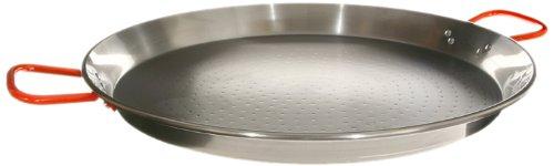 Garcima 26-Inch Carbon Steel Paella Pan 65cm