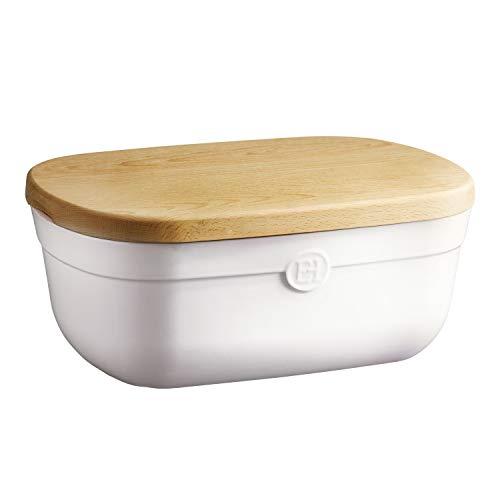Emile Henry 108750 Flour White bread storage box 14 x 95 x 6 inches