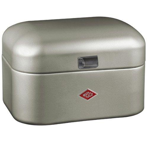 Wesco Grandy BreadStorage Box Silver by Wesco