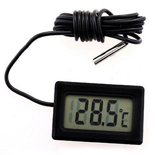 LookatoolNew Mini Digital LCD Thermometer Temperature Sensor Fridge Freezer Thermometer