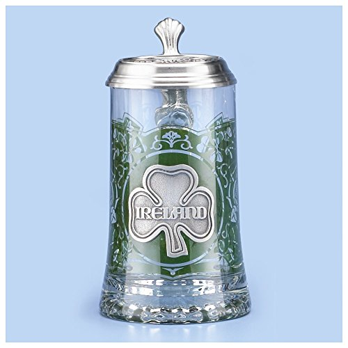 Glass Ireland Beer Stein 5930