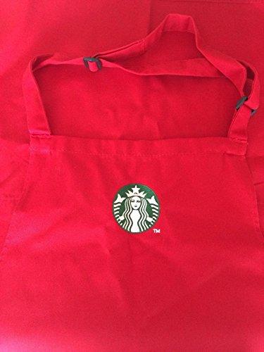 Starbucks Coffee Company Barista Red Holiday Season Apron