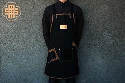 Barber Apron Nubuck Apron Leather Apron Custom Apron Barista Apron Bartender Apron Chef Apron Hair Stylist Apron Man Gift Apron