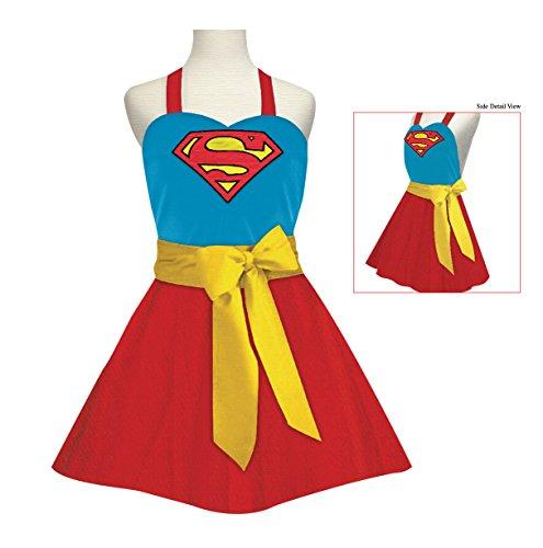 Supergirl Fashion Apron Adult