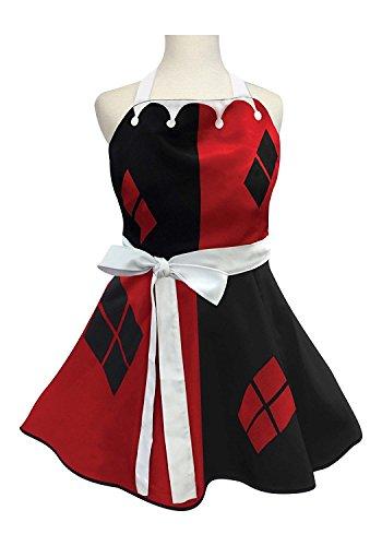 Womens Harley Quinn Fashion Apron Standard