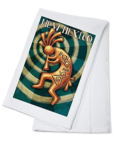 New Mexico - Kokopelli 100 Cotton Absorbent Kitchen Towel