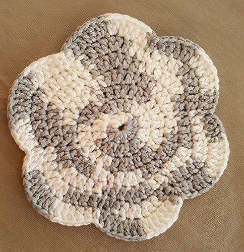 Crochet Dishcloth Crocheted Washcloths Crocheted Dish cloths 100 Cotton Dish Cloth Hand Crocheted Dish Rags Set of 2