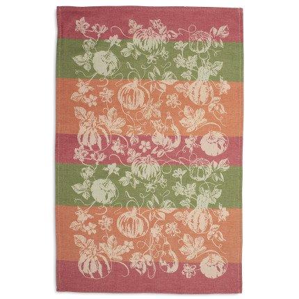Sur La Table Pumpkin Jacquard Kitchen Towel A03255  28 x 18