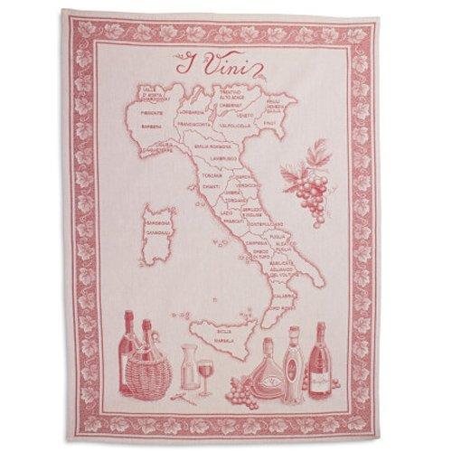 Sur La Table Vini Italian Jacquard Kitchen Towel VINI ITALY  30 x 22