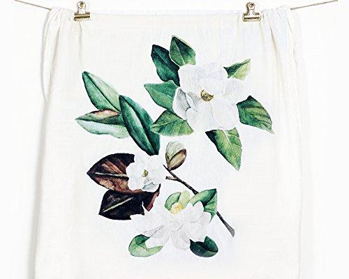 Honey Brush Design Kitchen Dish Towel 100 Cotton Flour Sack Tea Towel Magnolia