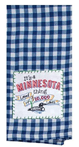 Kay Dee Designs ST Thing Minnesota APLQ Tea Dish Towel 18 x 28 Various
