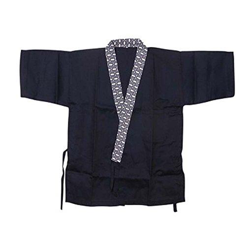Japanese Restaurant Sushi Chef Coat Half Sleeve Work Uniforms Jacket for Unisex 04
