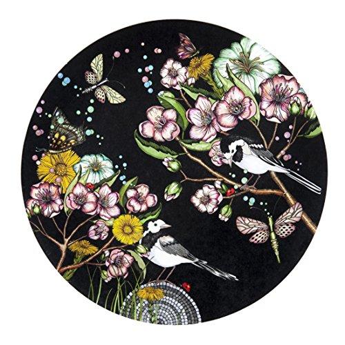 Nadja Wedin Design Wagtails Spring Black - Trivet 21 cm