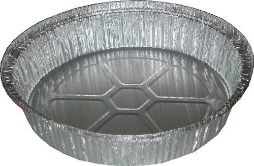 9 Aluminum Foil Pie Pan Plate Tin 2 Deep - Disposable Case of 500 Wholesale