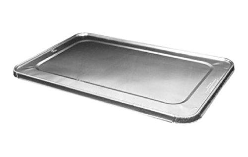 Aluminum Foil Lid For Full-Size Steam Table Foil Pan -Disposable Tin Cover 50PK