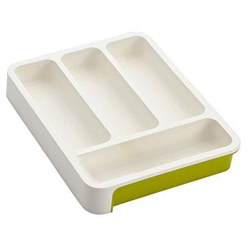Plastic Flatware Tray Cutlery Organizer Flatware Storage Organizer